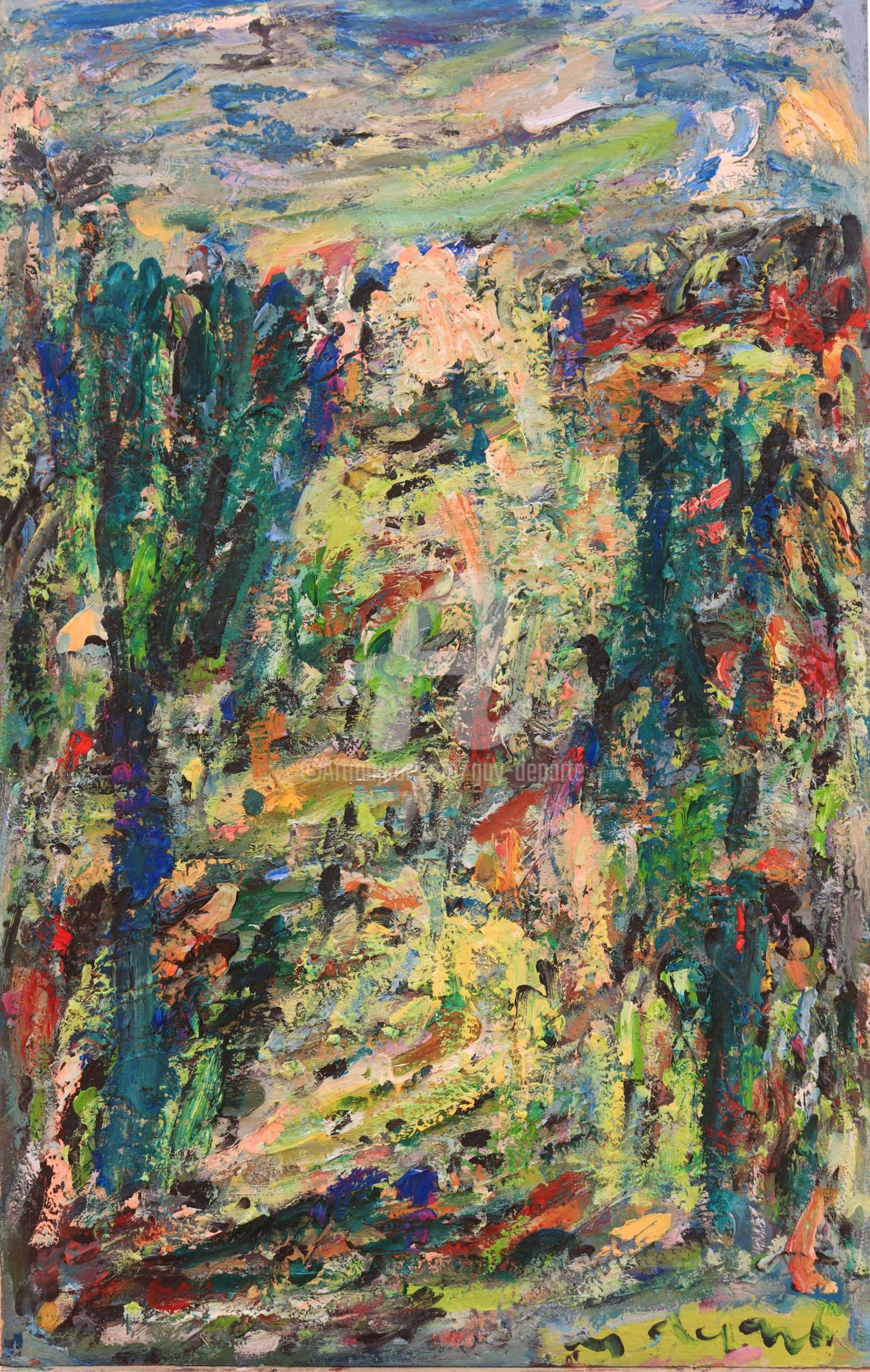 Guy Departe - paysage ostinato