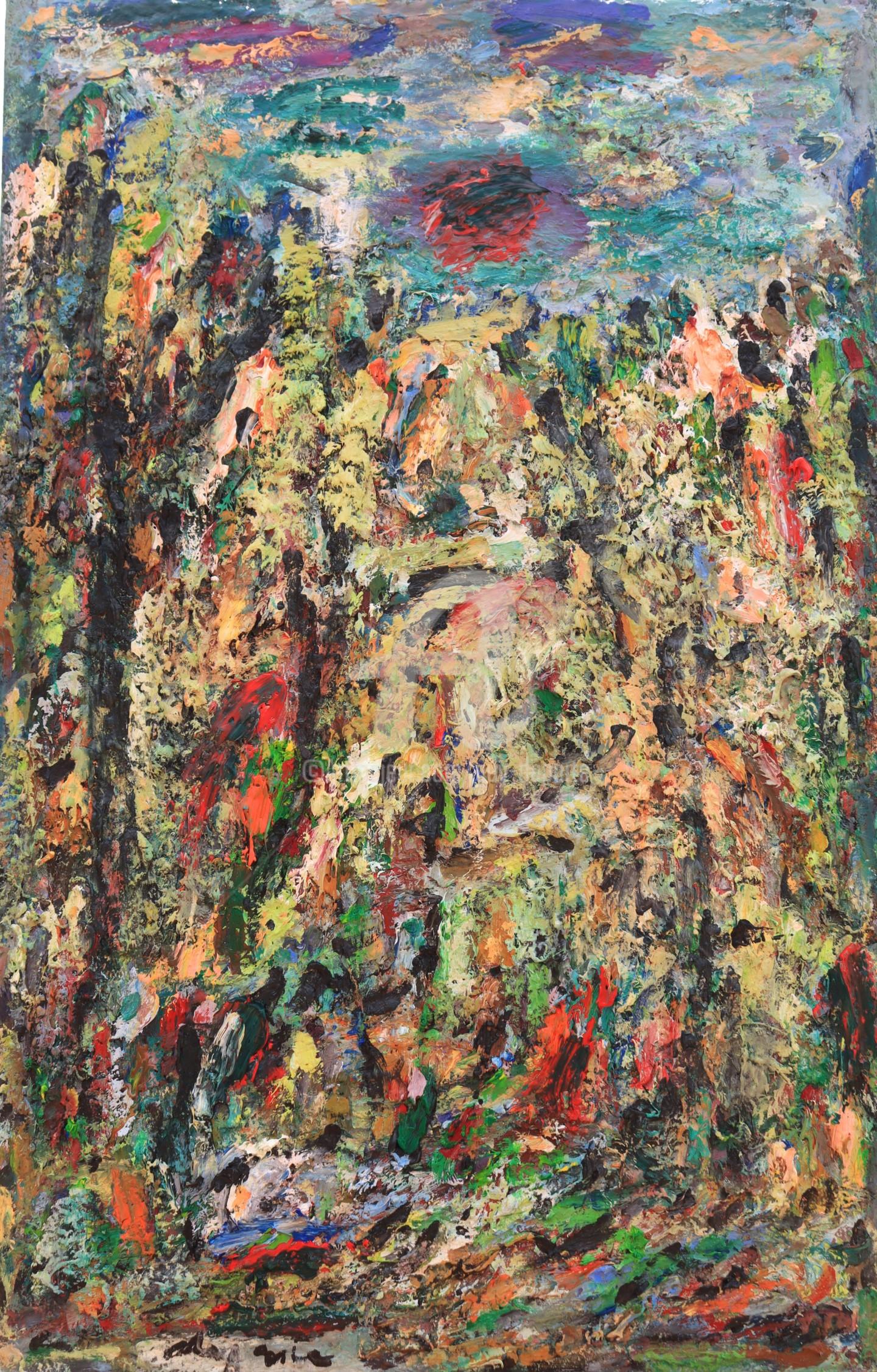 Guy Departe - paysage rondo