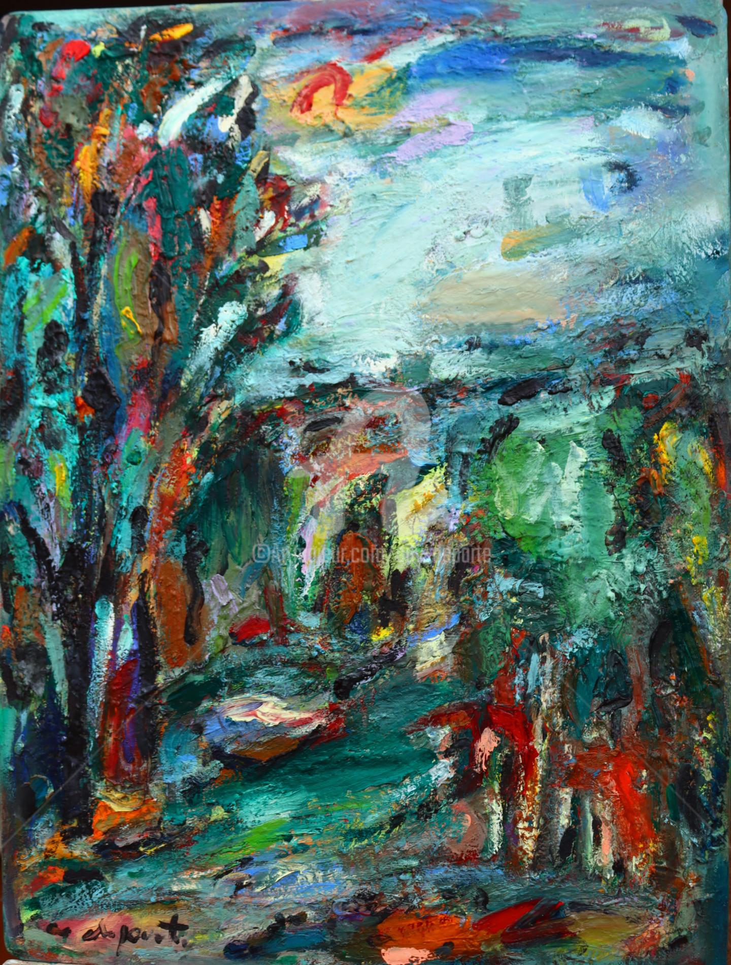 Guy Departe - paysage variation